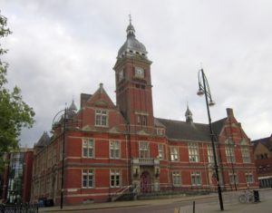 Swindon Town Hall at Regent Circus