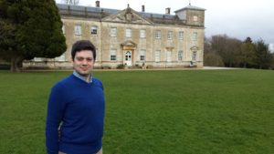 Councillor Matthew Courtliff at Lydiard House