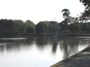Coate Water Lake and Diving Board