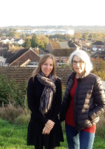 Councillors Nadine Watts and Jane Milner-Barry