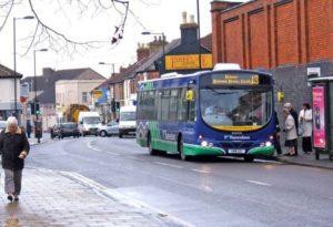 Bus in Swindon