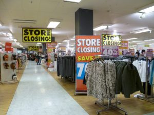 Swindon Store Closing